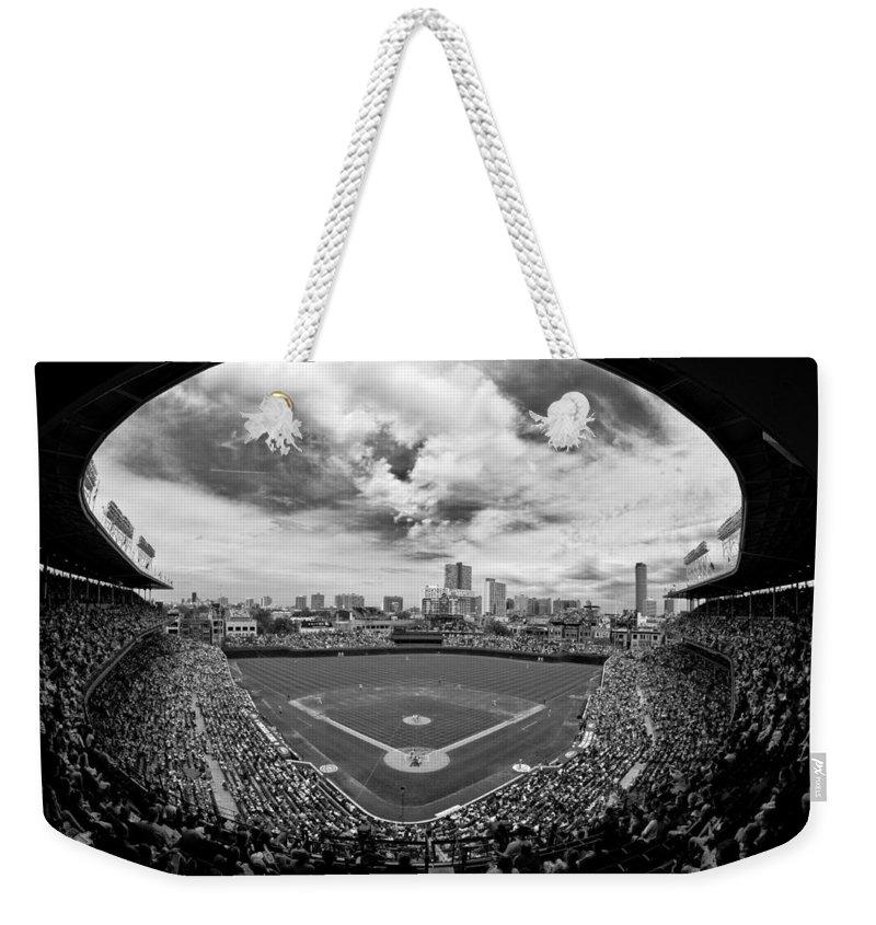 Chicago Cubs Weekender Tote Bags