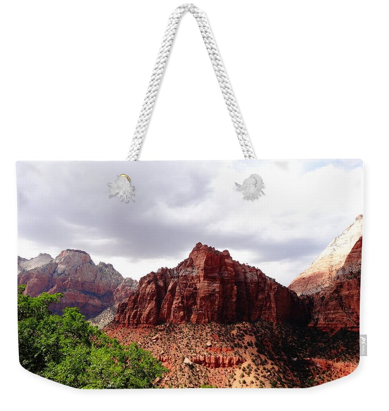 Zion Photographs Weekender Tote Bag featuring the photograph Zion by Dan Sproul