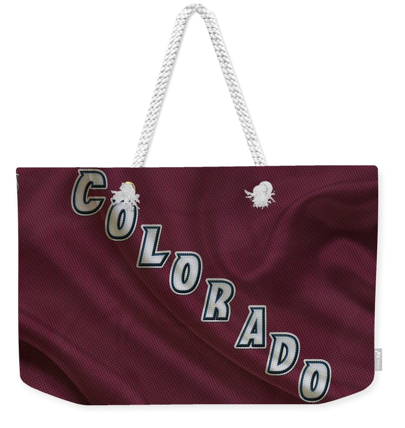 Avalanche Weekender Tote Bag featuring the photograph Colorado Avalanche by Joe Hamilton