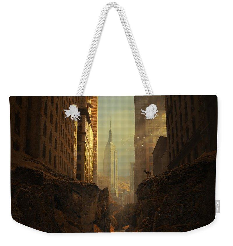 American Landmarks Weekender Tote Bags