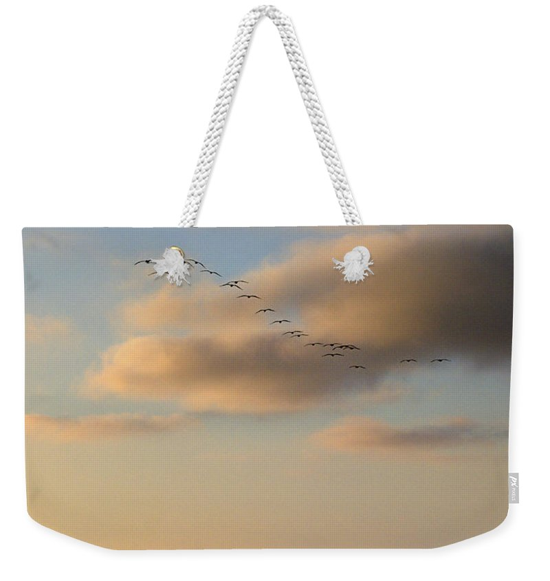 Sunset Weekender Tote Bag featuring the photograph 22 by Joe Schofield