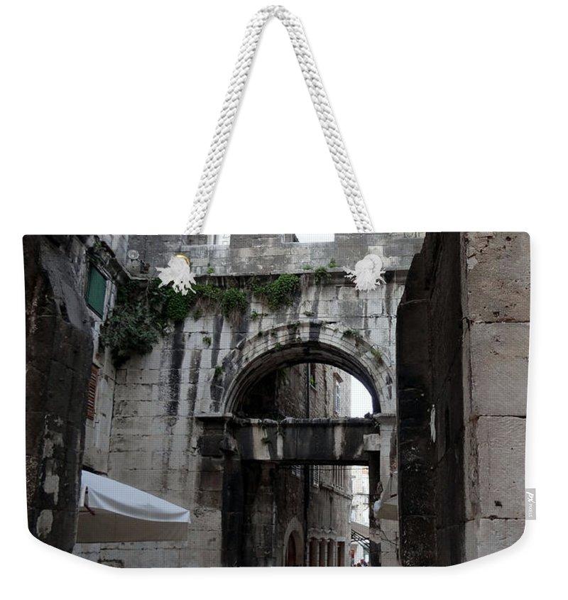 Split Croatia Weekender Tote Bag featuring the photograph Views Of Split Croatia by Richard Rosenshein