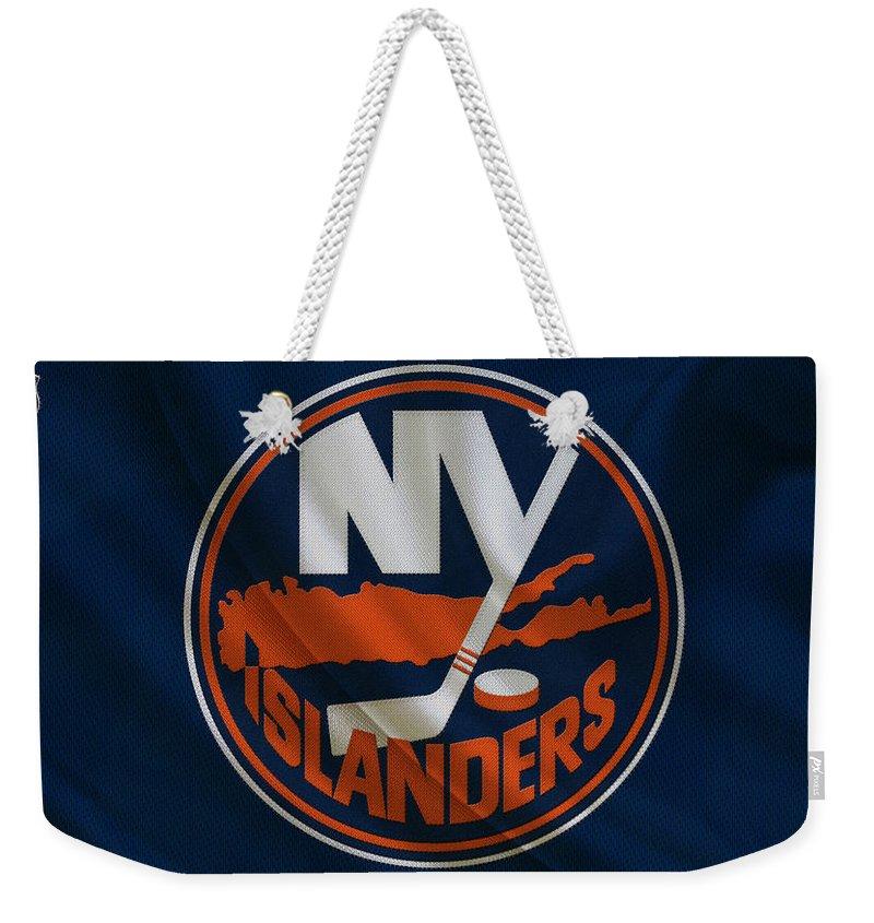 Islanders Weekender Tote Bag featuring the photograph New York Islanders by Joe Hamilton