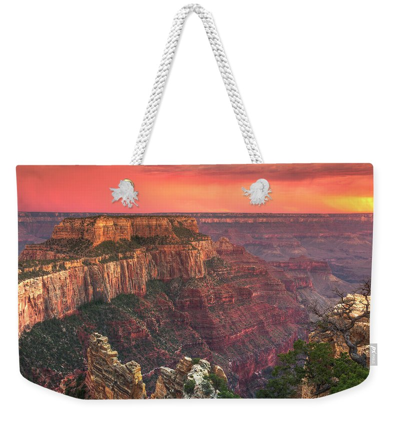 Tranquility Weekender Tote Bag featuring the photograph Grand Canyon National Park by Michele Falzone