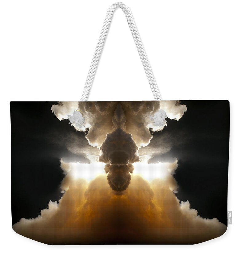Original Weekender Tote Bag featuring the photograph Abstract 125 by J D Owen