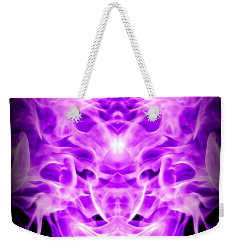 Original Weekender Tote Bag featuring the photograph Abstract 128 by J D Owen