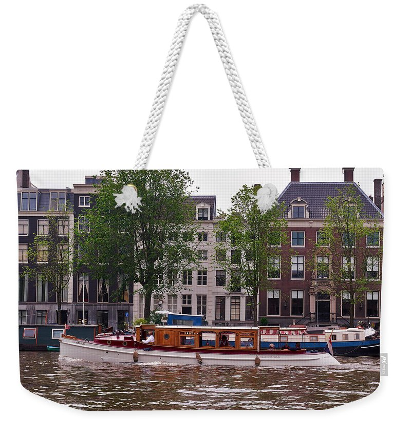 Alankomaat Weekender Tote Bag featuring the photograph Amsterdam by Jouko Lehto