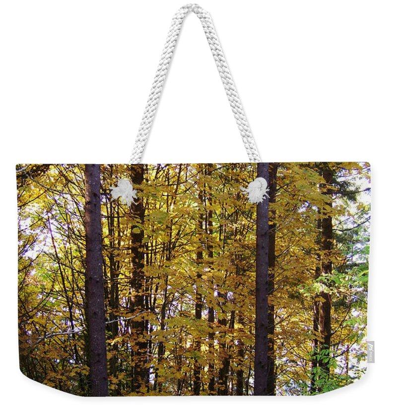 Original Weekender Tote Bag featuring the photograph Autumn 5 by J D Owen