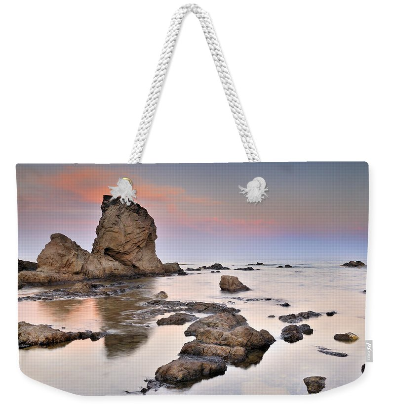 Seascape Weekender Tote Bag featuring the photograph Cabo De Gata by Guido Montanes Castillo