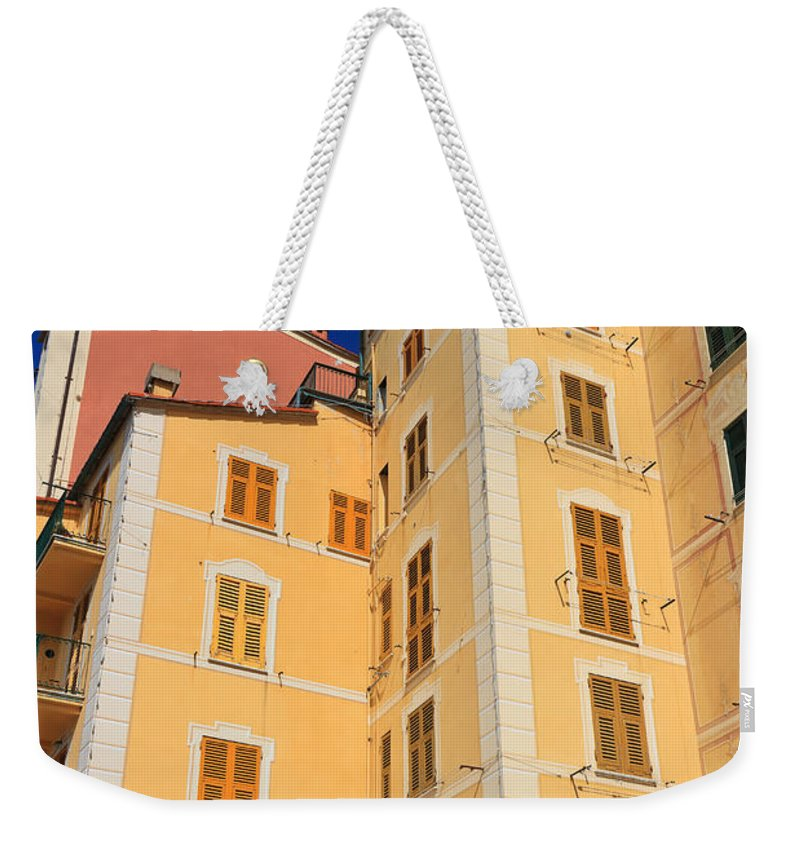Ancient Weekender Tote Bag featuring the photograph Camogli - Italy by Antonio Scarpi