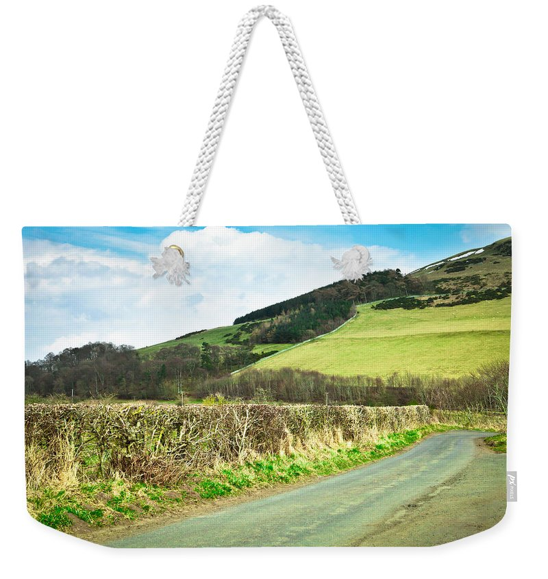 Borders Weekender Tote Bag featuring the photograph Country Track by Tom Gowanlock