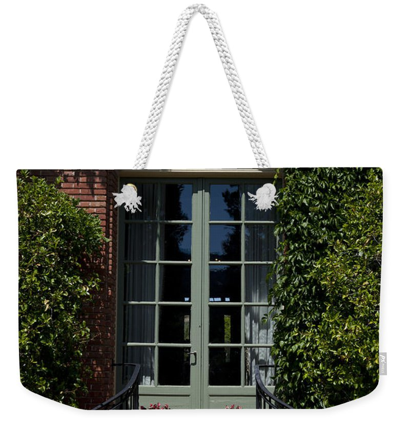 Filoli Weekender Tote Bag featuring the photograph Filoli by Jason O Watson