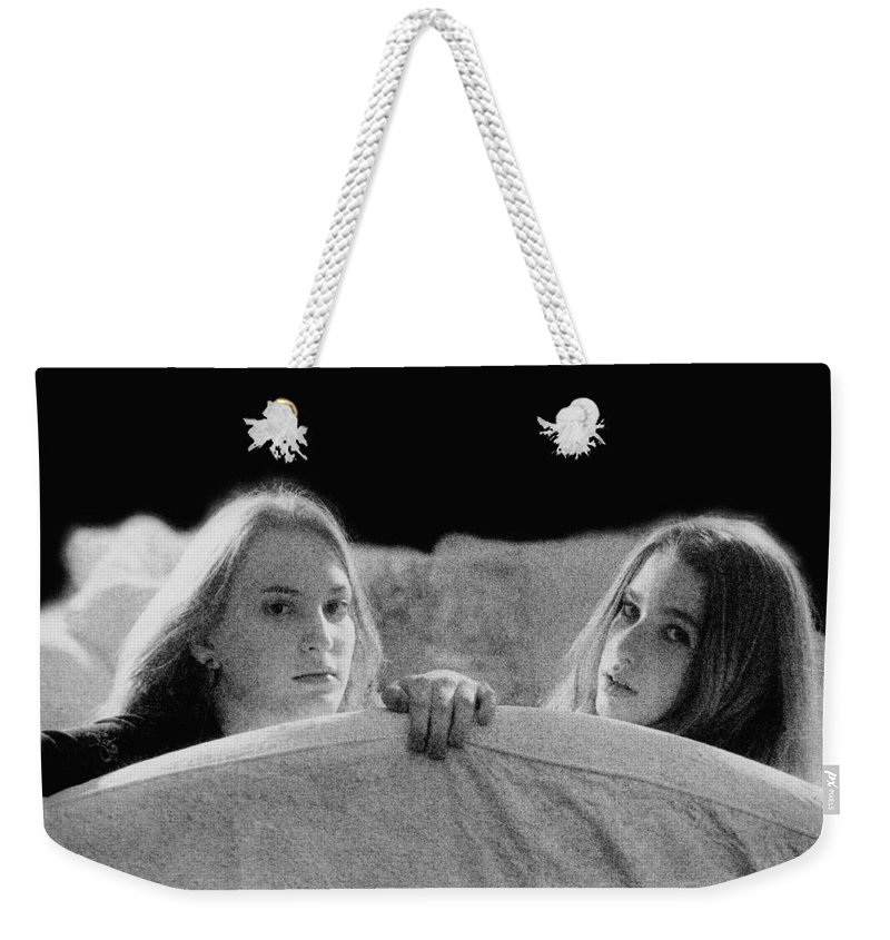 Friend Weekender Tote Bag featuring the photograph Friends by Madeline Ellis