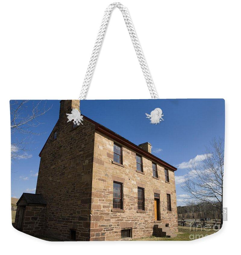 Travel Weekender Tote Bag featuring the photograph Manassas National Battlefield Park by Jason O Watson