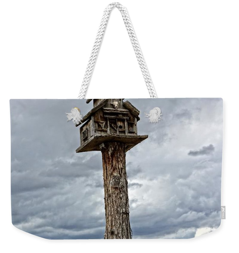 Birdhouse Weekender Tote Bag featuring the photograph Melba Idaho by Image Takers Photography LLC