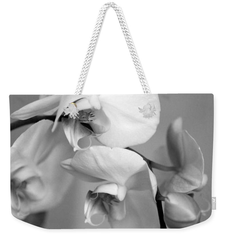 Orchids Weekender Tote Bag featuring the photograph Orchid by Amanda Barcon