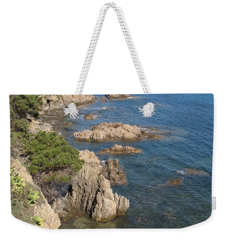 Peninsula Weekender Tote Bag featuring the photograph Peninsula Gien by Christiane Schulze Art And Photography