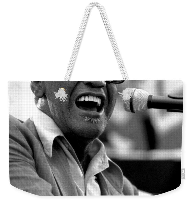 Rhythm And Blues Weekender Tote Bags