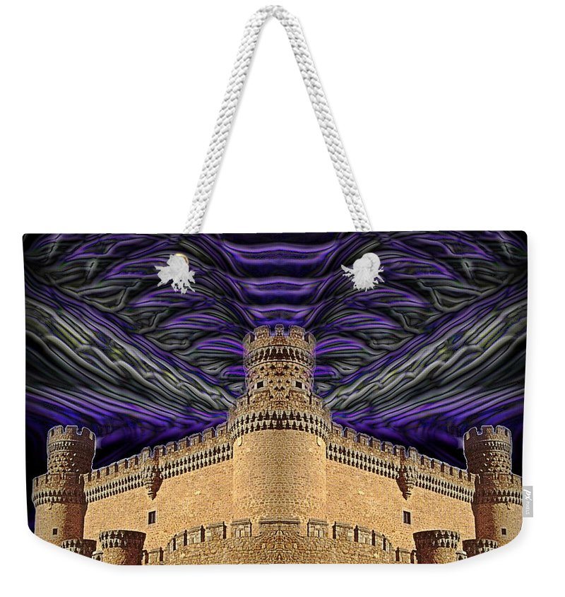 Original Weekender Tote Bag featuring the photograph Stormy Keep by J D Owen
