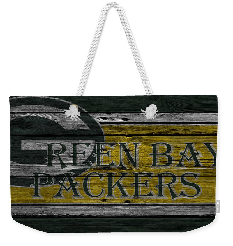 Packers Weekender Tote Bag featuring the photograph Green Bay Packers by Joe Hamilton