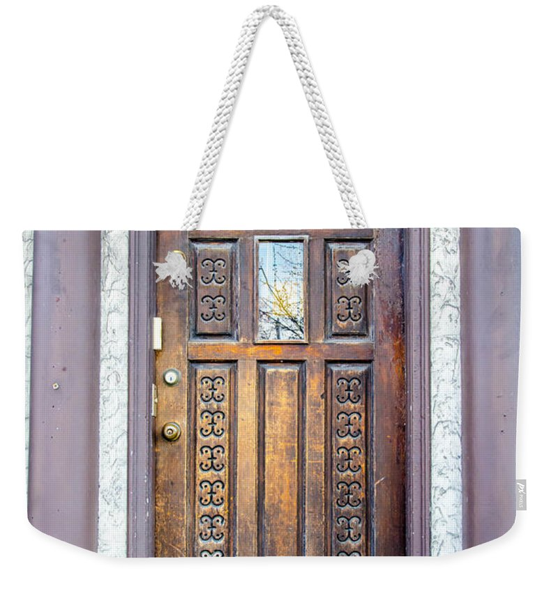 Guy Whiteley Photography Weekender Tote Bag featuring the photograph 367 Delaware by Guy Whiteley