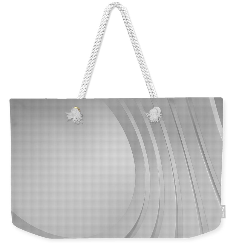 Arch Weekender Tote Bag featuring the photograph 3d Blank Abstract Architecture by Me4o