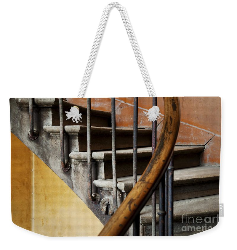 Ancient Weekender Tote Bag featuring the photograph Ancient Staircase by Brian Jannsen