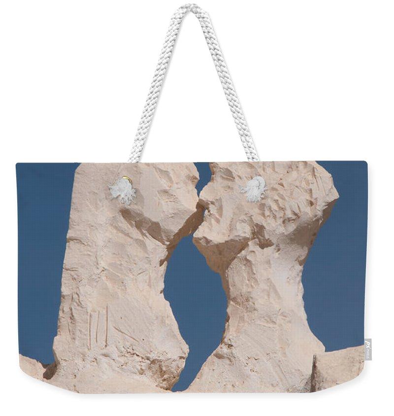 Egypt Weekender Tote Bag featuring the digital art Badr by Carol Ailles