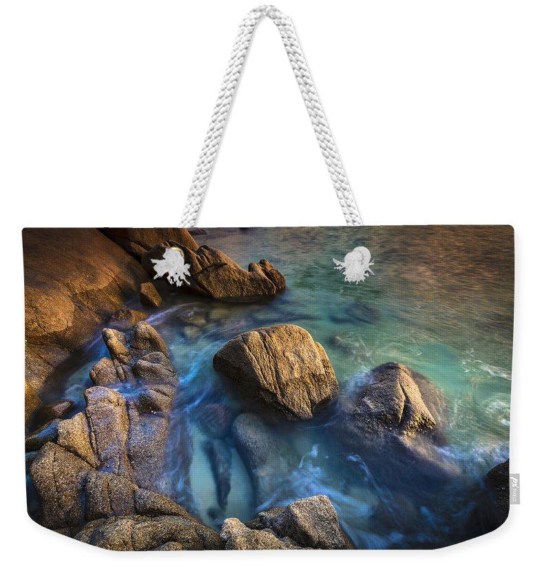 Mugardos Weekender Tote Bag featuring the photograph Chanteiro Beach Galicia Spain by Pablo Avanzini