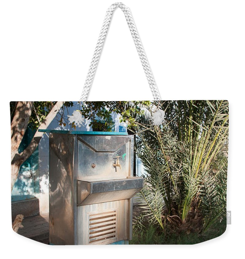 Drinking Water Weekender Tote Bag featuring the digital art Dakhla by Carol Ailles