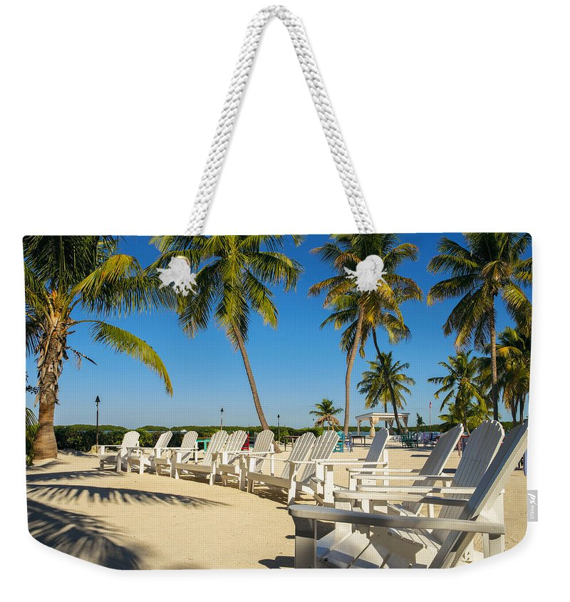 Bay Shore Weekender Tote Bag featuring the photograph Florida Keys by Raul Rodriguez