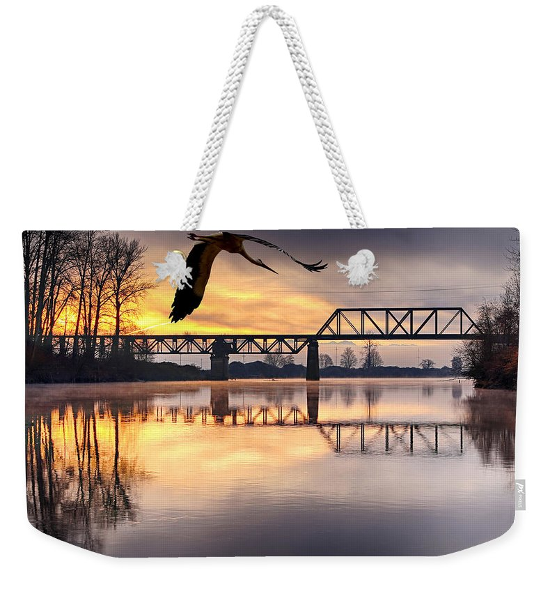 Snohomish Weekender Tote Bag featuring the photograph Snohomish by Paul Fell