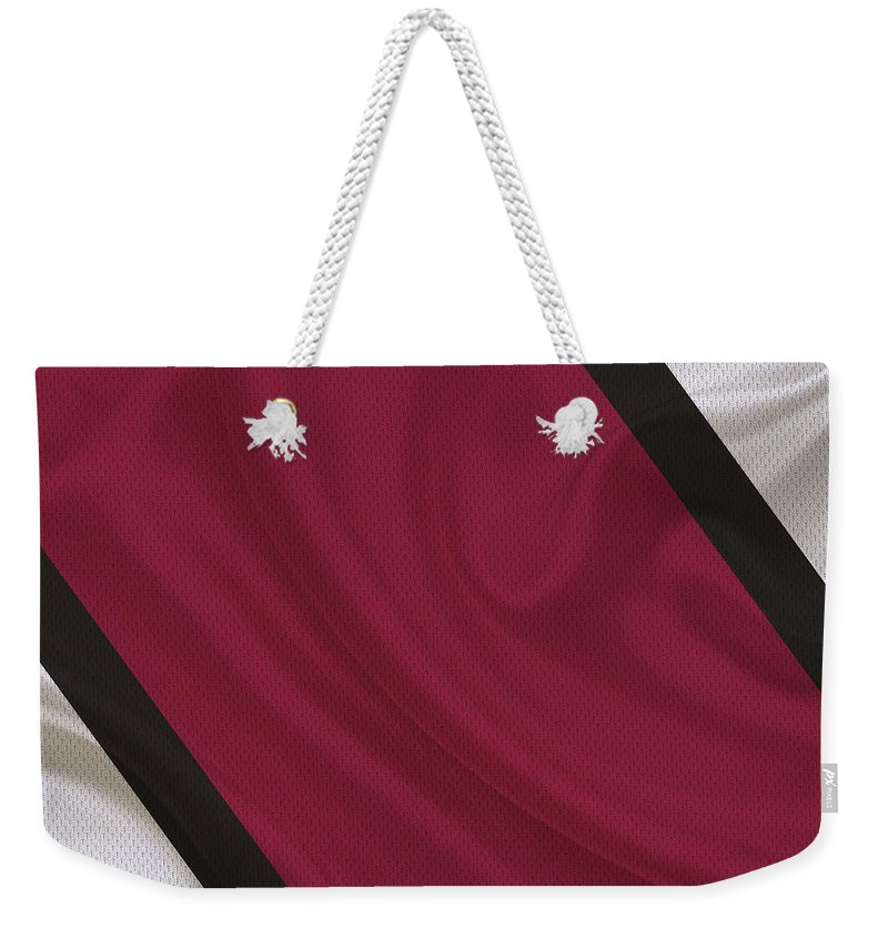 Cardinals Weekender Tote Bag featuring the photograph Arizona Cardinals by Joe Hamilton
