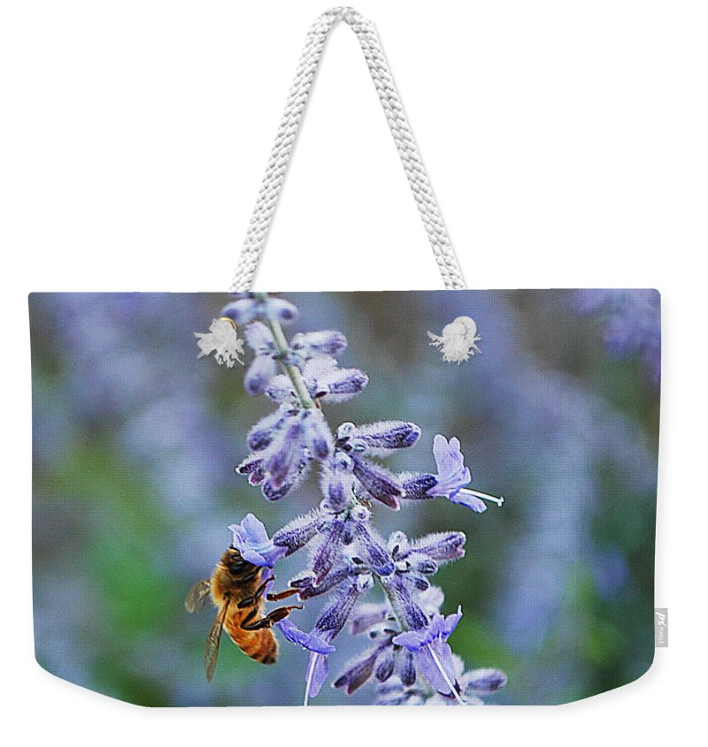 Becky Furgason Weekender Tote Bag featuring the photograph #russiansage by Becky Furgason