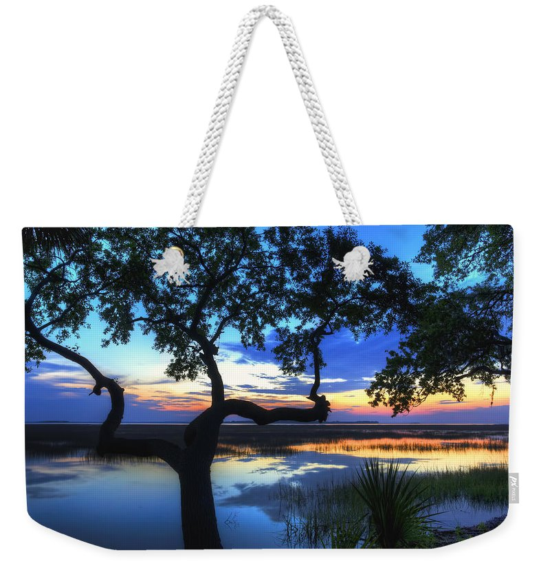 April Weekender Tote Bag featuring the digital art April Morning by Phill Doherty