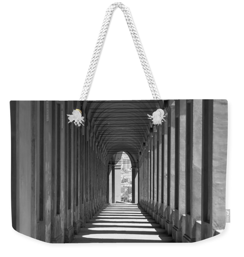 Arcade Weekender Tote Bag featuring the photograph Archway by Mats Silvan