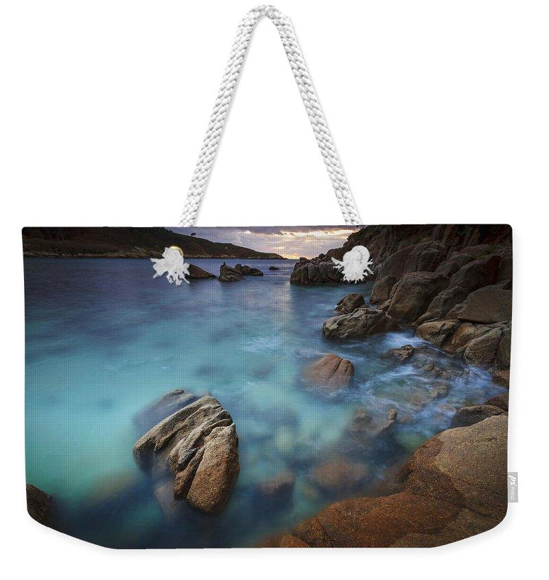 Chanteiro Weekender Tote Bag featuring the photograph Chanteiro Beach Galicia Spain by Pablo Avanzini