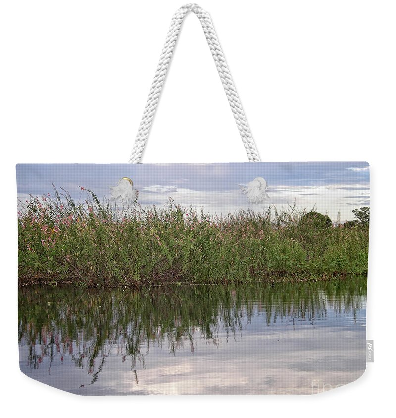 Brazil Weekender Tote Bag featuring the digital art IImages From The Pantanal by Carol Ailles