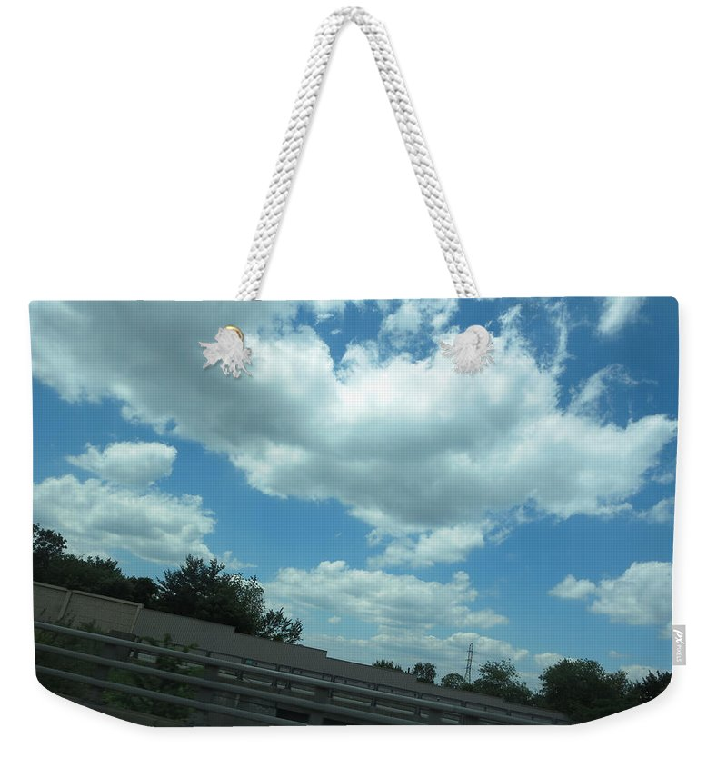 Nature Weekender Tote Bag featuring the photograph Perfect Angle Photos From Moving Car Windows Closed Navinjoshi Rights Managed Images Graphic Design by Navin Joshi