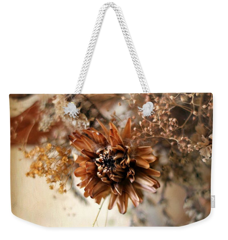 Still Life Weekender Tote Bag featuring the photograph Vintage Still Life by Jessica Jenney