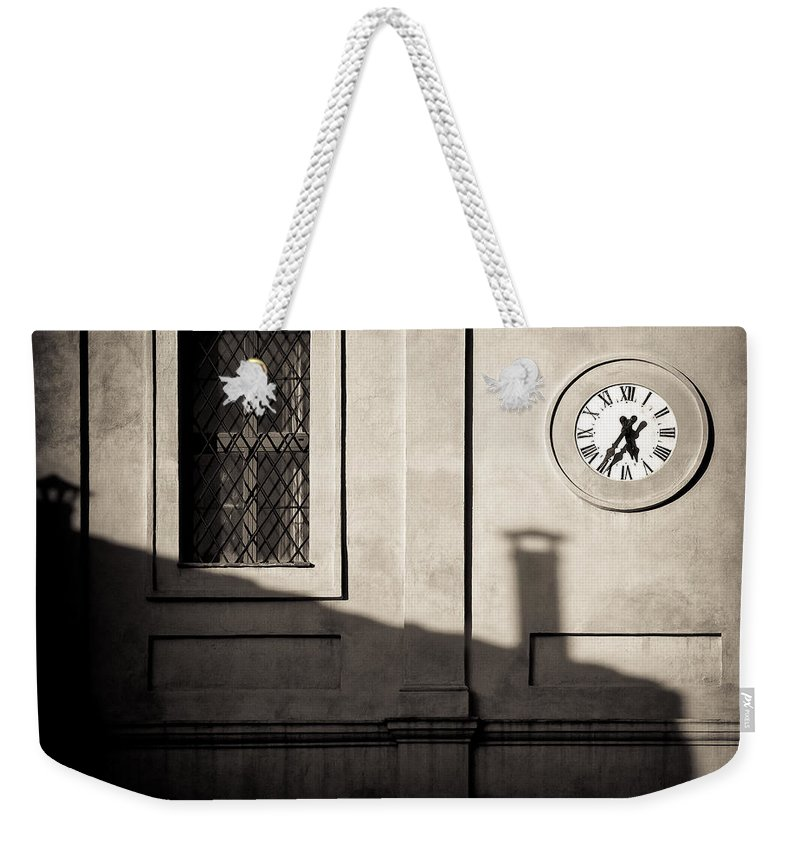 Siena Weekender Tote Bag featuring the photograph 5.35pm by Dave Bowman