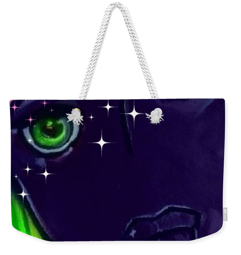 Pikotine Weekender Tote Bag featuring the painting Pikotine Art by Pikotine Art