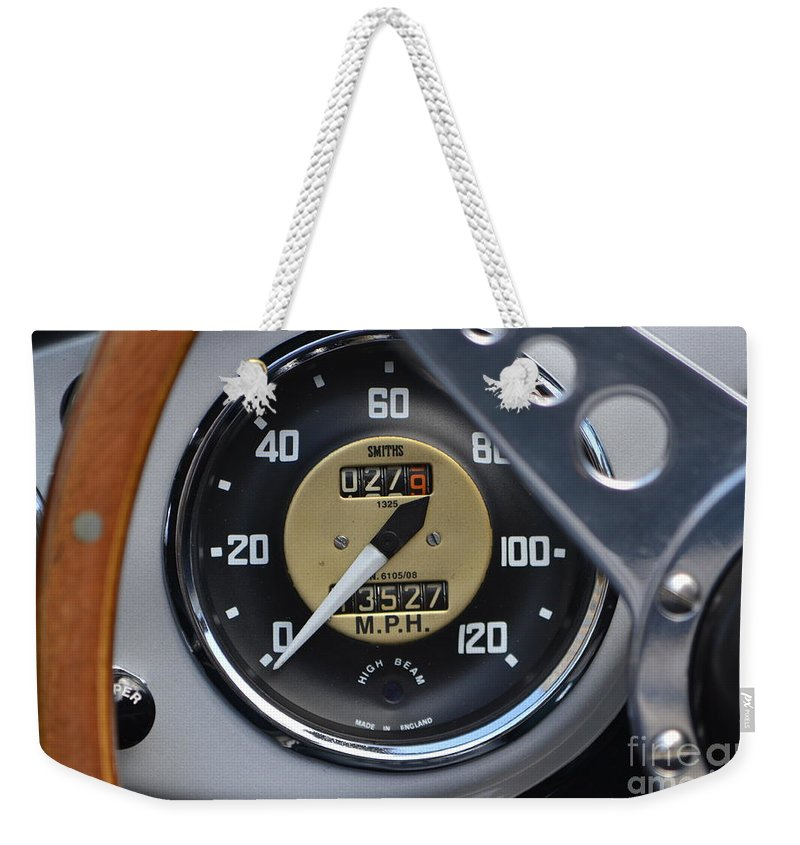 Sports Car Weekender Tote Bag featuring the photograph California Mille by Dean Ferreira