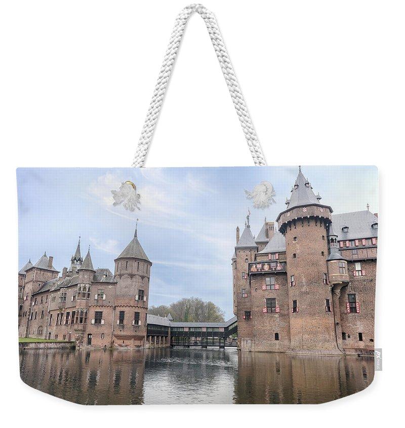 Kasteel De Haar Weekender Tote Bag featuring the photograph Kasteel De Haar by Joana Kruse