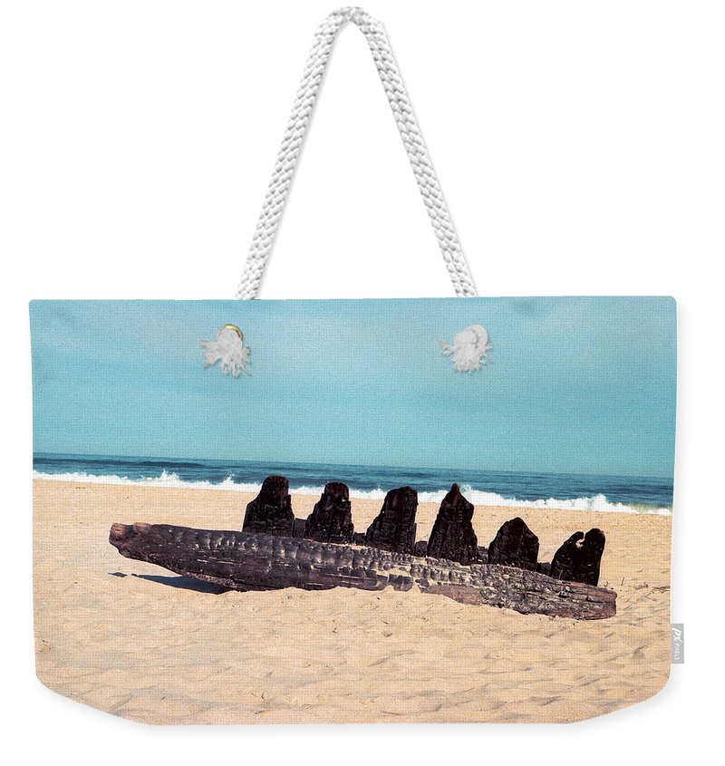 Beach Weekender Tote Bag featuring the photograph 6 Nuns by Valerie Brown