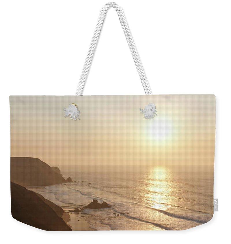 Algarve Weekender Tote Bag featuring the photograph Portugal, Algarve, Sagres, View Of by Westend61