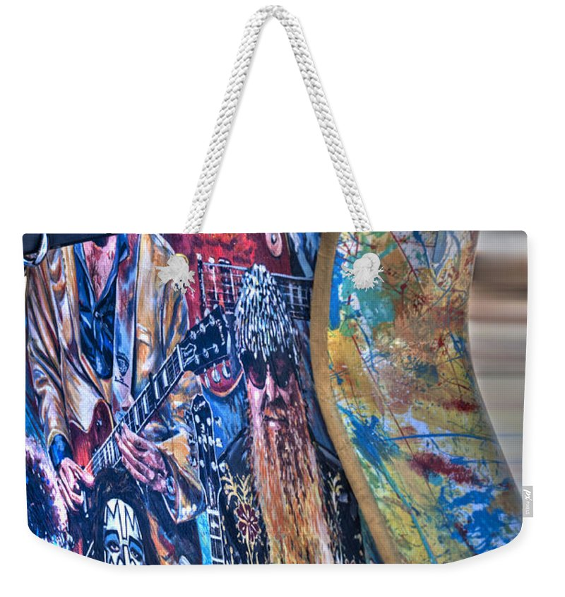 Classic Weekender Tote Bag featuring the photograph Rock N Roll Collection by Deborah Klubertanz