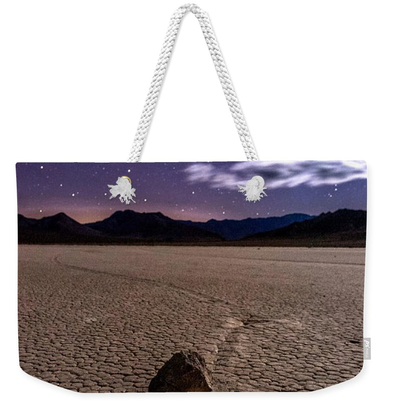 California Weekender Tote Bag featuring the photograph The Racetrack by Cat Connor