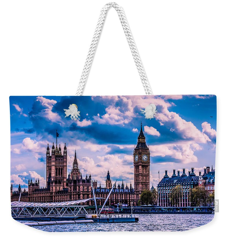 Dawn Oconnor Dawnoconnorphotos@gmail.com Weekender Tote Bag featuring the photograph Westminster by Dawn OConnor