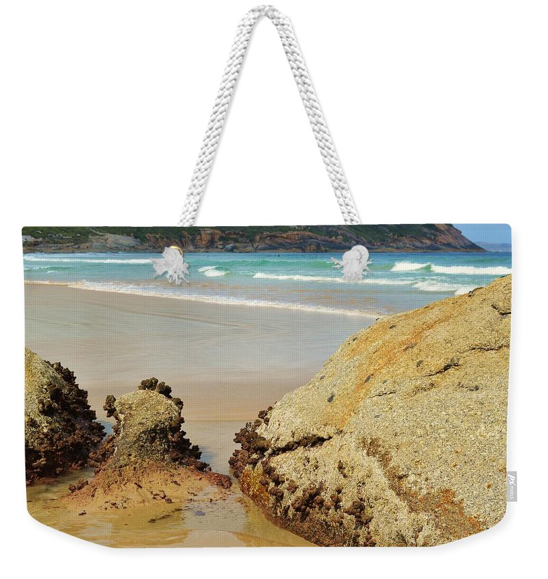 Wilsons Promontory Weekender Tote Bag featuring the photograph Wilsons Prom by Snowflake Obsidian